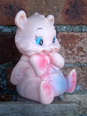 Cute Critter (The Moog Image Dump) Tags: vintage cute kawaii toy figure animal squeaker squeaky
