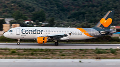 Condor - Airbus A320-200 - D-AICD (domi26495) Tags: condor airbus a320200 daicd skiathos lgsk jsi planespotter spotter aircraft airplane flugzeug canon 70d