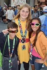 DSC_0337 (Randsom) Tags: newyorkcomiccon 2017 nyc convention october5 nycc comic book con costume newyorkcity october7 cosplay marvelcomics marvel superhero xmen hero mutant cyclops jubilee magik illyana trio group youth kid javits october6