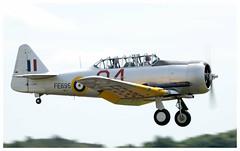 Noorduyn Mk.IIb Harvard FE695 (G-BTXI) (Ciaranchef's photography.) Tags: harvard warbirds flyinglegends duxford iwmduxford ww2aircraft nikond7000 tamron150600