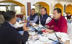 Programa MAS OAXACA beneficiará a más de 56,279 habitantes, así lo informa Marcelo Díaz de León Director Gral. de #SAPAO.