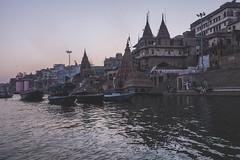 Varanasi - Ganges River - boat ghats-13
