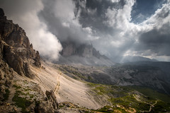Dolomites (Croosterpix) Tags: landscape nature mountains mountain dolomiti dolomites italy sky clouds rocks light outdoors hiking sony a7r tamron