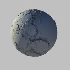 paint splash sphere (vaheed pall) Tags: mandelbulb3d mathematics