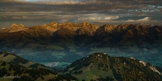 Les préalpes gruyériennes (Switzerland)