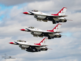 USAF Thunderbirds Aerobatic display team