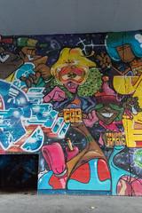 Egs & OsGemeos (Thomas_Chrome) Tags: egs os gemeos osgemeos helsinki baana mural character graffiti streetart street art spray can wall walls suomi finland europe nordic legal