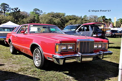 1978 Mercury Cougar XR7 (Gerald (Wayne) Prout) Tags: 1978mercurycougarxr7 1978 mercury cougar xr7 2017winterfloridaautofestlakeland lakelandlinderregionalairport cityoflakeland polkcounty florida usa ford prout geraldwayneprout canon canoneos60d eos 60d digital camera photographed photography display carshow car vehicle automobile classic historical antique 2017 winter autofest lakeland linder regional airport carlisleauctions carlisle auctions polk county auto