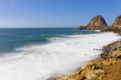 Point Mugu (Life of David) Tags: california canon5dmarkiv nd10 usa beach landscape malibu ocean pointmugu waves world100f