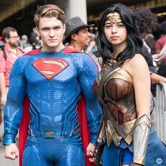 DSC09183 (g28646) Tags: nycc newyorkcomiccon nycc2017 cosplay superman wonderwoman