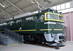 JNR Class EF81 electric locomotive of 1974 (SteveInLeighton's Photos) Tags: october 2017 japan locomotive museum kyoto narrowgauge railroad railway electric jnr
