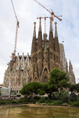 La Sagrada Familia (joscelyn_p) Tags: sagradafamilia barcelona spain church architecture travel canon lightroom europe traveler traveling