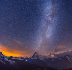 Milkyway at Gornergrat (CoolbieRe) Tags: