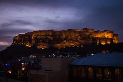 Rajasthan - Jodhpur - blue city sunset-4