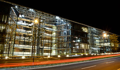 EIB by night (Marcin Weisbrot) Tags: luxembourg night ebi