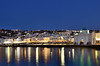 The Old Port of Mykonos Island (Alona Azaria) Tags: mykonos oldport chora island cyclades cyclade bluehour greece whitehouses nightscape