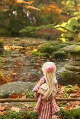 Yukata (MarloesK) Tags: autumn dollfie dream sister mmd ddh10 custom momo outside