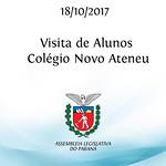 Visita de alunos do Colégio Novo Ateneu