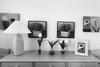 Recibidor (josemiguelforteaparicio) Tags: arte cuadros black white blanco y negro bw bn mueble recibidor iphone muro decoración interiores piso apartamento plano moderno madera pared muebles habitación diseño hogar casa fondo minimalista salón contemporáneo