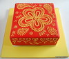 Hand piped mendi cake (small town girl bakery) Tags: mendi