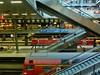 Berlin Central Station - Ankomme Freitag den 13. um 14Uhr - Christina (size10x15) Tags: berlin hauptbahnhof central station arival departure trainstation zug deutsche bahn