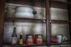 Granny's Cupboard (Linda O'Donnell) Tags: yellowdogvillage miningtown ghosttown abandonedamerica abandonedplacesinamerica abandonedbuildings vintagehouse abandonedplacesinpa interior pantry cupboard