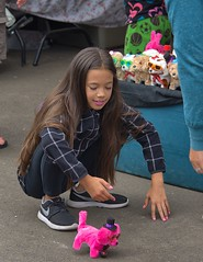 Wind Up Toy (swong95765) Tags: kid girl play toy fun cute pink nailpolish lipstick