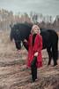 IMG_5068 (Katerina Dorohova) Tags: horse frieshorse blackhorse horses ladyinred photoshootwiththehorse autumn