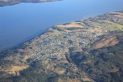 Flateby (magro_kr) Tags: flateby norwegia norway norge øyeren oyeren jezioro woda krajobraz widok sceneria lake water landscape view scenery aerial