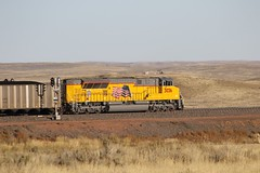 3G2A7929 (kschmidt626) Tags: powder river coal train wyoming bnsf union pacific sunset sunrise tier 4
