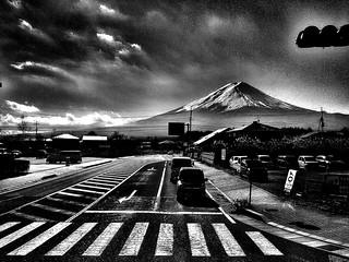 - crossing towards Fui-san -  #fujisan #landscape #landscapephotography #blackandwhite #blackandwhitephotography #blackandwhitephoto #monochrome #monochromephotography #bw #bwphotography #bnw #bnwphotography #other