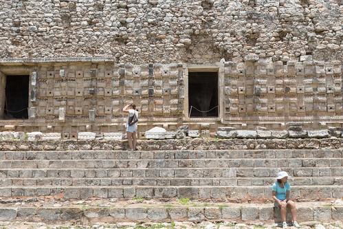 Kabah, palacio de los Mascarones
