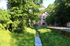 Paysage  -- République Tchèque -- (elisabeth D.) Tags: chemin rivière prague républiquetchèque