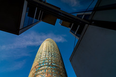 _DSC1324 (durr-architect) Tags: torre agbar tower barcelona jean nouvel modern high tech architecture rise bullet shape cylinder glass surface