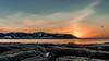 Seagulls and Sunrise (_John Hikins) Tags: torbay torquay paignton devon d500 nikon nikkor nature bird birds seaside sea sky sun sunshine sunrise wildlife 1020mm 1020 rocks seagull