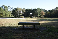 8 acres, 1 splintered bench, 2 half court basketball courts.  Mingo Creek Park, Knightdale, NC located near the Timber Ridge Subdivison in the Parkside neighborhood. (Apartment 4 G Photography.....) Tags: abandonedpark jollyatkins knightdalestation dustintripp markswan jessicaday petemangum mayorroberson poverty amusements rayriveraphoto knightdalenc knightdale wakecounty eastwakecounty photos park town greenway growth carolina downtown democrats politicians games kids exercise basketball havesandhavenot station splashpad knightdalestationpark equality neglect poorpeople nikond810 nikon south discrimination civil rights civilrights hispanics africanamericancommunities parkside knightdalechamberofcommerce