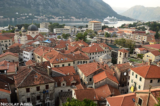 View over Kotor's Old Town