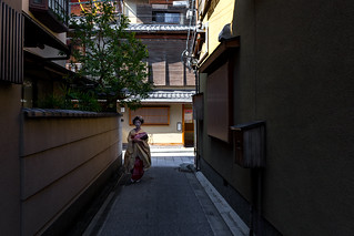 舞妓 - 宮川町 / Maiko at Miyagawa-cyo
