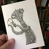 Reject (Don Moyer) Tags: ink drawing sketchbook moyer donmoyer brushpen kickstarter