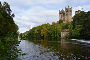 Durham Cathedral from the riverside