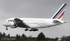 FHPJI A380 Air France (Anhedral) Tags: fhpji airbusindustrie a380 a380800 airfrance afr afr178 diversion landing shannonairport fuelleak superjumbo einn snn