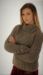 Sexy babe in turtleneck wool jumper (Mytwist) Tags: jcrew sweat shirt brown long sleeve casual cold weather knitted turtle neck stitchesandseamsct blonde sexy teen crew sweatergirl outfit knitwear dicipline cozy classic soft handgestrickt handknitted modern retro