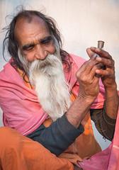 Rajasthan - Pushkar - Outskirts Holy Man-7