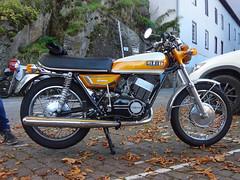 Yamaha RD250 DS7 perfectly restored (Rob de Hero) Tags: yamaha rd 250 rd250 1971 1972 1970s restauriert restored original zweitakt twostroke zweitakter ds7