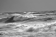 Surf (G Reeves) Tags: nikon nikond810 garyreeves seafront beach sea waves water outside outdoor landscapes landscape rottingdean eastsussex brighton undercliff storm bw blackwhite blackandwhite monochrome coast