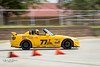 Yellow flashes by. (Mikel_Matthews) Tags: s2000 fun racing ax autocross sasca