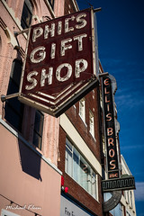 Phil's Gift Shop and Ellis Bros Furniture (makleen) Tags: binghamton broomecounty ellisbrosfurniture neonsign newyork philsgiftshop sign signs usroute11 vintagesigns washingtonstreetmall