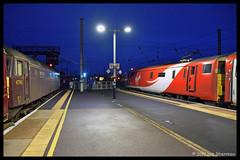 No 47760 No 91107 Skyfall 18th Oct 2017 Peterborough (Ian Sharman 1963) Tags: no 47760 18th oct 2017 peterborough 91107 skyfall 91 electric virgin station services engine railway rail railways train trains loco locomotive passenger ecml east mainline