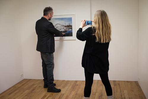 """Hrafnkell Sigurðsson og Arna Valsdóttir í Alþýðuhúsinu • <a style=""""font-size:0.8em;"""" href=""""http://www.flickr.com/photos/22350928@N02/24145999638/"""" target=""""_blank"""">View on Flickr</a>"""