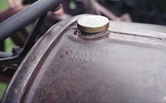 Fordson (rentavet) Tags: analog ashtabulacounty ashtabulaantiqueengine antiquetractor nikonfg konicacenturia400asa nikkor50mm fordson